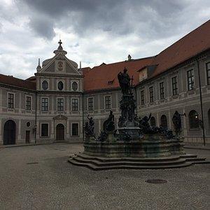 Wittelsbacher Fountain at Residenz