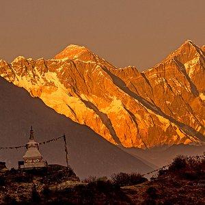 Tallest mountain on earth Everest. Everest Base Camp Trek
