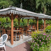 Pavillons im Garten