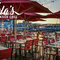 The best waterfront patio in Old Town!