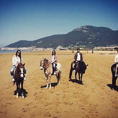 Paseo a caballo en El Sable