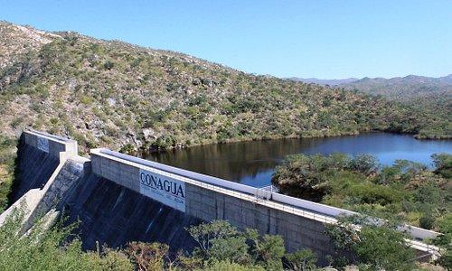Presa De La Buena Mujer Dam near La Paz, Mexico