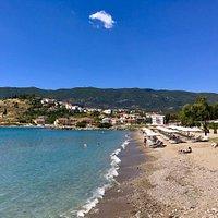 Kanali beach near Poros town