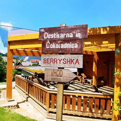 Distillery and chocolatier Berryshka