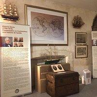 Vue de l'intérieur du musée
