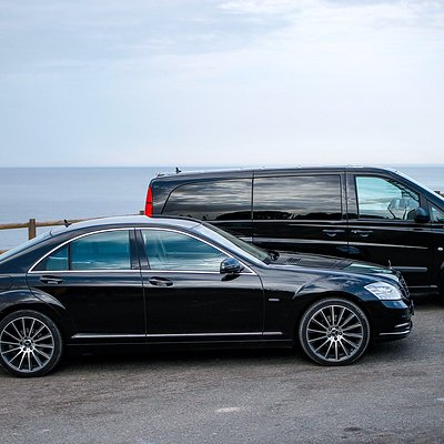 Mercedes Vito and S400 Hybrid In Carvoeiro