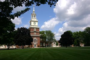 Henry Ford Museum's clock tower, modeled after Independence Hall