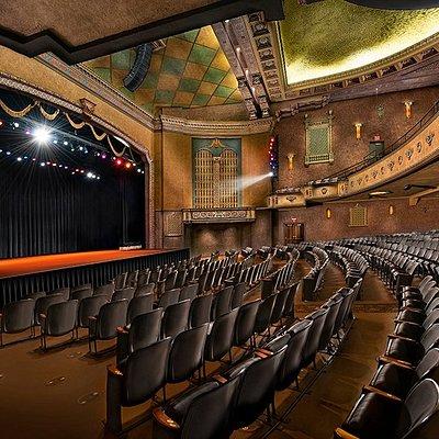 Interior picture of the theatre