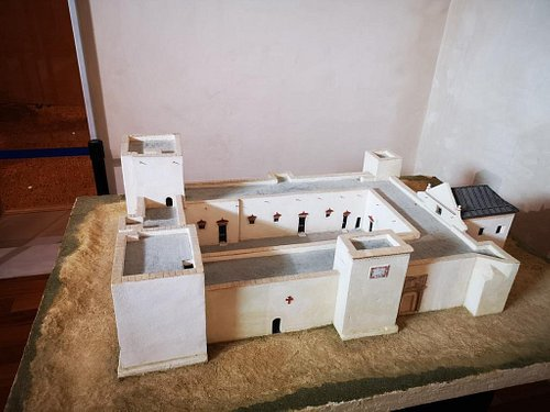 Maqueta del castillo