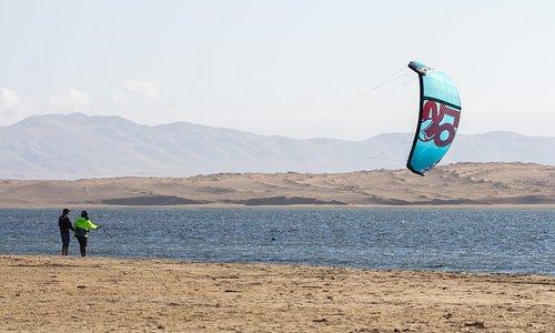 Perukite kitesurfing school