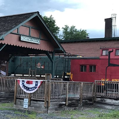Interesting depot with a connection to Theodore Roosevelt.