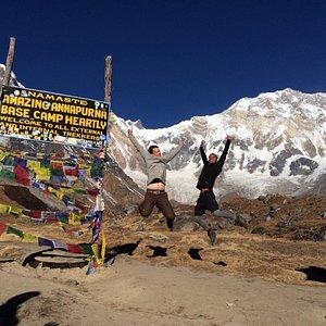 Unlimited fun Annapurna Trek 12 days Nepal.
