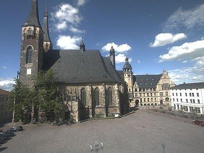 Bild der Kirche von der Webcam live unter