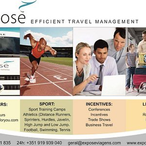 Services provided by Exposé Travel Management