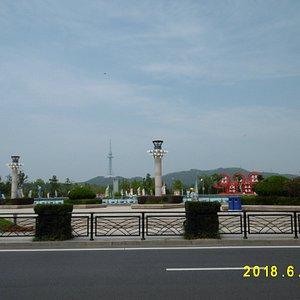 第一海水浴場から中山公園方向