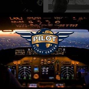 Pilot Flight Center Cockpit