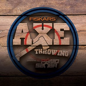 Fiskars Axe Throwing logo