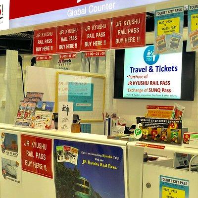 Ticket sales counter