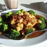 Hühnchen mit Brokkoli (sehr lecker!)