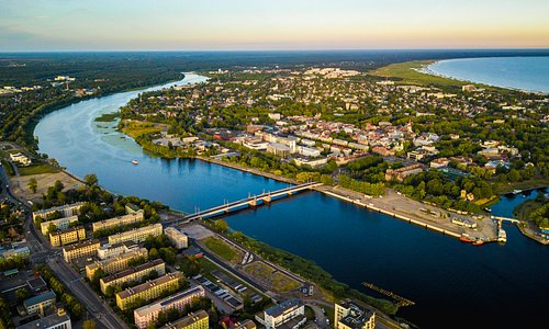 Sunset in Pärnu 27.6.2018