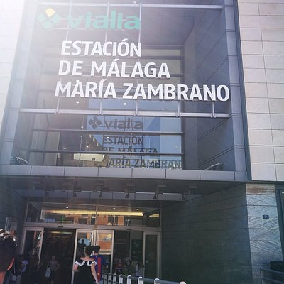 Estación María Zambrano.