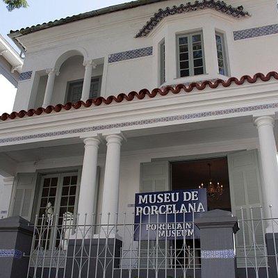 Fachada do casarão em que o Museu está instalado