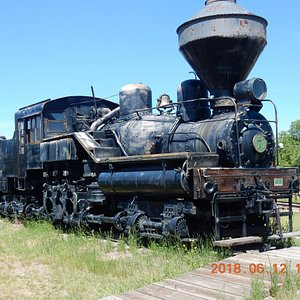 Shay style steam locomotive