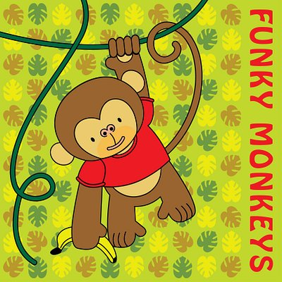 Funky Monkeys Logo