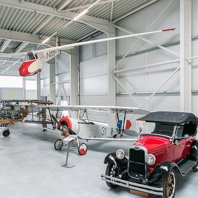 Hangar 1 im Luftfahrtmuseum Wernigerode