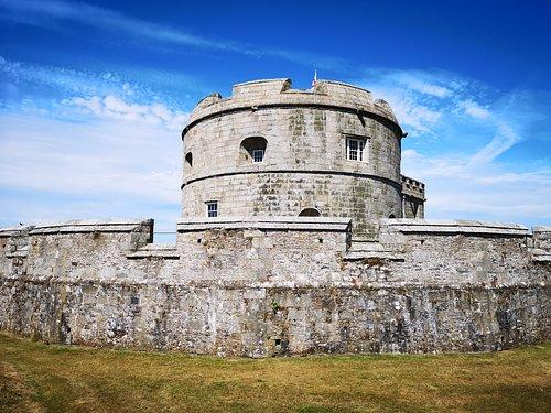 Castle compound.