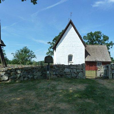 Jäts gamla kyrka i Jät