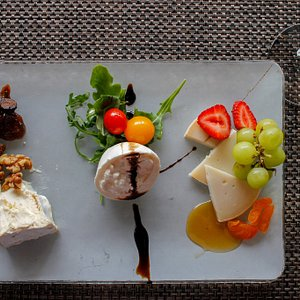This cheese board is the perfect start to our West Hollywood tour!