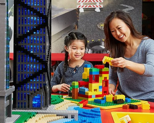 Test the strength of your super tall brick tower when the table starts to Shake!