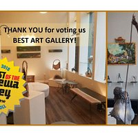 Paintings, ceramics, sculpture, jewelry and gifts = FINE ART!