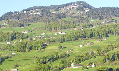 пейзажи вокруг Вадуца