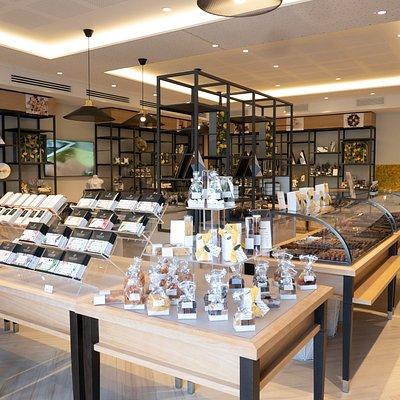 Intérieur boutique - Puyricard
