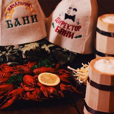 Настоящая русская баня с поддачей пара на камни. Два больших зала с бассейнами, бильярдом и пари