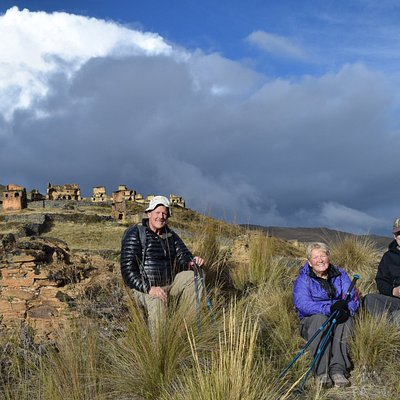 Ciudadela Yarowilca Piruro en Tantamayo, Huanuco, Perú.  Los Yarowilcas fue una cultura Pre Inc