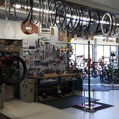 Inside the Criterium Shop