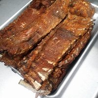Baby Back Ribs fresh from the Smoker