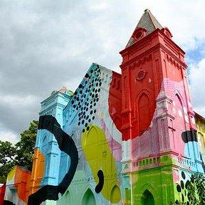 Technicolor Church