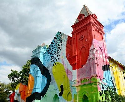 Technicolor Church
