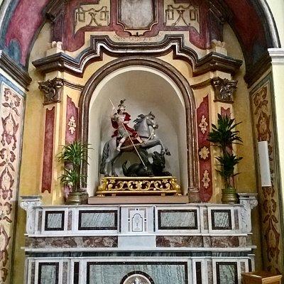 Chiesa di San Giorgio Martire - altare laterale - San Giorgio