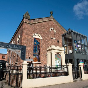 Chapel Gallery view from St Helens Road