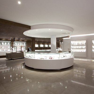 Interior de la tienda Perlart