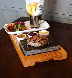 Steak on a Stone
