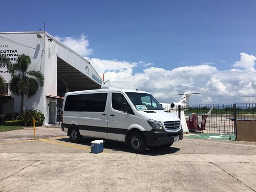 We can pick up at the private area of the airport as well, few steps from your plane