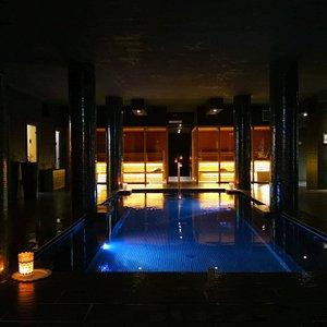 Vasca idromassaggio e saune
