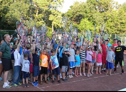 A gem of a tennis club in the woods for Adults and kids.