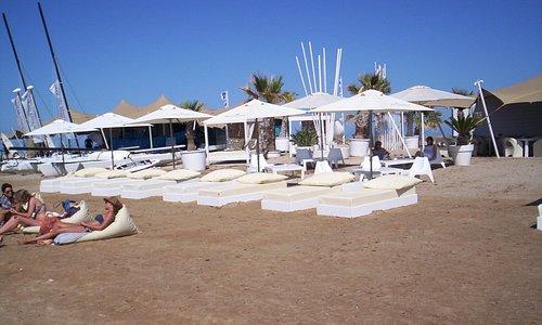 tumbonas playa Denia